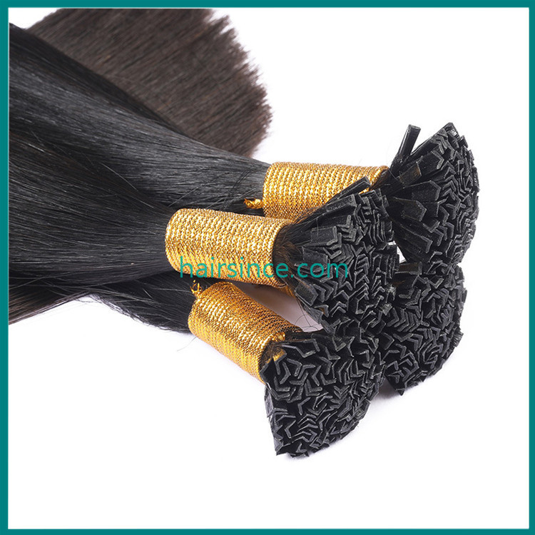 100% remy human hair extensions v tip hair extensions pre-bonded hair extensions from factory