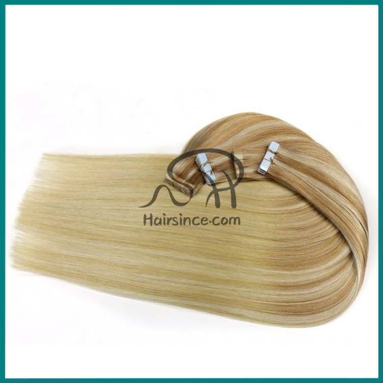 Tape In Hair Extentions Remy hair tape hair skin weft With Full Cuticle